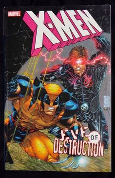 X Men Eve of Destruction Magneto Rising Marvel Comics Softcover Paperback Book