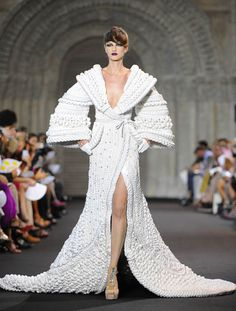 Lucire Fashion: Gorgeous cable knitting by Stephane Rolland