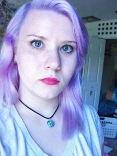 lilac Lilac Hair, Chokers, Jewelry, Fashion, Moda, Jewlery, Jewerly, Fashion Styles, Schmuck