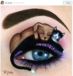Maquillaje de ojos de fantasía: Fotos de Tal Peleg (17/17) | Ellahoy