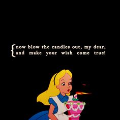 disney's alice in wonderland quotes | Happy Birthday to my friend @DearCharly