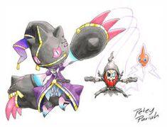 Pokemon X Overwatch: Mega Banette X Sombra by PeteyPariah on DeviantArt Pokemon Mashup, Ghost Pokemon, Pokemon Fan Art, New Pokemon, Pokemon Fusion, Cool Pokemon, Pokemon Cards, Pokemon Stuff, Overwatch Pokemon