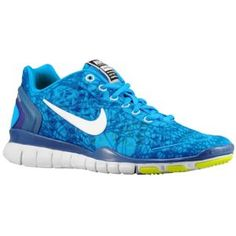 Nike Free TR Fit 2 - Women's - Training - Shoes - Blue Glow/Shaded Blue/Night Blue/White