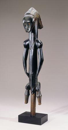 Standing Male Reliquary Guardian Figure (eyema bieri) New Orleans Museum of Art