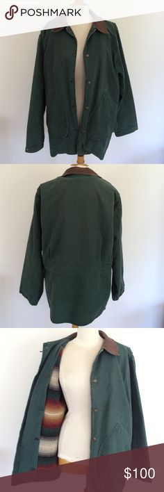 Men's Woolrich Coat Men's vintage Woolrich coat with great striped wool lining. Size medium but runs big so would recommend for a size large male. Great jacket in quality and style! Woolrich Jackets & Coats