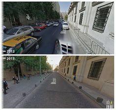 A remodelação realizada entre 2012 e 2015 na rua Morandé, próximo ao Palácio de La Moneda, em Santiago, não apenas gerou uma notória mudança visual,...