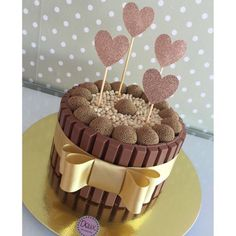 I Love Chocolate, Chocolate Cake, Mini Cakes, Cupcake Cakes, Birtday Cake, Cute Birthday Cakes, Candy Cakes, New Cake, Easy Cake Recipes