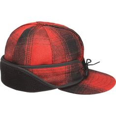 6c02e535cfe85e Men s Accessories and Attire. Stormy KromerRed And Black PlaidWinter Hats  ...
