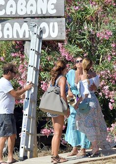 Princess Madeleine held a party for Chris at Cabane Bambou