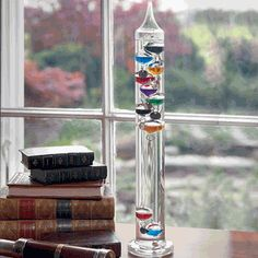Galileo Thermometer.  Fun and pretty.  $32