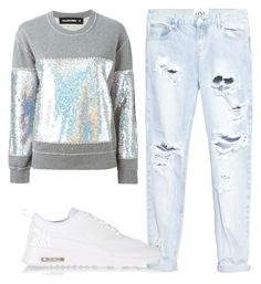 """""""because Friday"""" by christenamelea on Polyvore featuring Filles à papa, One Teaspoon and NIKE"""