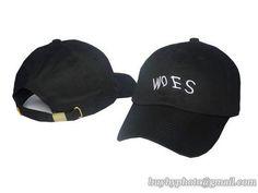 Drake Woes Baseball Caps Black