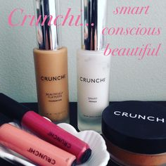 Organic makeup that is toxin free! gluten free, vegan or vegetarian, non gmo, eco cert and cruelty free. My favorite makeup! www.crunchi.com/christakidd