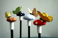 pencil toppers
