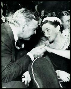 Clark Gable and Judy Garland.