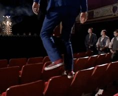 Can we just all begratefulthat this didn't happen in his 11th regeneration? Matt Smith would've broken both legs.