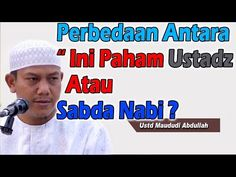 Ustadz Maududi Abdullah