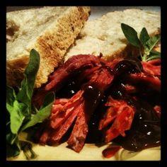 Crock Pot Recipes: Barbecue Beef Brisket and Focaccia Garlic Bread