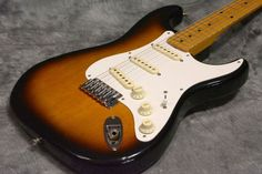 Fender Japan ST54 Modified Tobacco Sunburst Used Electric Guitar F/S EMS…