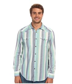 You'll be a beacon of light in any room in this fun and colorful button-up.