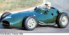 1960 GP Francji (Tony Brooks)Vanwall VW11