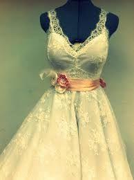 vestidos de noiva retro com renda - Pesquisa Google