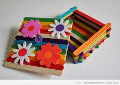How To Make A Popsicle Stick Park Bench Popsicle Stick Crafts IdeasBack To 69 Ravishing Tips Popsicle Stick Crafts IdeasPopsicle Stick Crafts Ideas Popsicle Sticks Craft Ideas By Shamali, Popsicle. Kids Crafts, Diy And Crafts, Craft Projects, Arts And Crafts, Paper Crafts, Recycled Crafts, Craft Ideas, Popsicle Stick Crafts, Popsicle Sticks