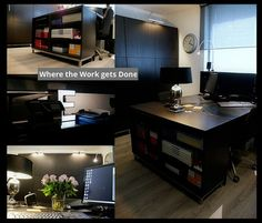 Workspace of the Week: An office with extensive storage space | Unclutterer