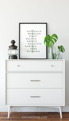 TRAVELBUG. Printable poster by Eskaa Designs.