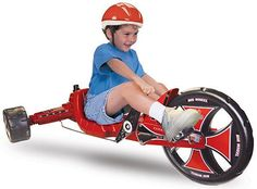 "Retro Green Machine Tricycle Sidewinder Ride On Big 16"" Inch Wheel Bike Trike, Vintage"