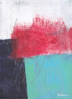 "Saatchi Online Artist Karin Lauria; Painting, ""Red"""