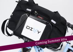 I Divvy all the time.  I cannot wait to get my hands on this.  I got to see the prototype at the Women Bike Chicago Forum in April.  Black Waxed Canvas ships early July