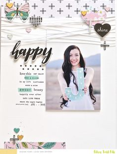 "Welcome to this 3 to Inspire Challenge! Leigh here, and I am in love with this month's kits! For today's ""3 To Inspire"", I challenge you..."