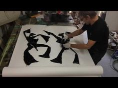 Making of monotype-prints with plastic bags 5 - YouTube