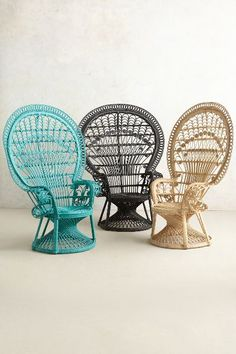 Sit pretty in our unique collection of chairs for the living room or bedroom. Find upholstered accent chairs in beautiful velvet, leather and linen fabrics. Cane Furniture, Wicker Furniture, Unique Furniture, Furniture Design, Pastel Furniture, Peacock Chair, Deco Boheme, Oriental Design, Oriental Style