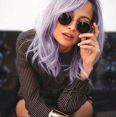 Nicole Richie purple hair | Nicole Richie new hair Kelly Osbourne lilac