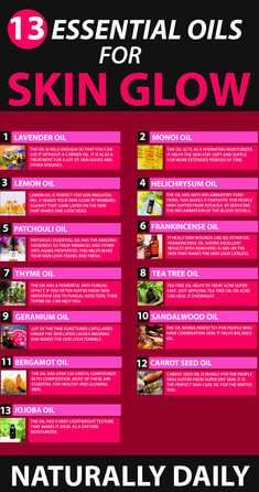 13 Best Essential Oils for Skin Glow Imagine having that radiant and supermodel glow on your skin fo Essential Oils For Skin, Essential Oil Blends, Beauty Tips For Skin, Skin Care Tips, Beauty Hacks, Beauty Secrets, Diy Beauty, Beauty Makeup, Skin Care Routine For 20s