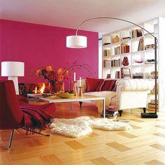Decoración 2012: Ideas de colores para interiores y el cereza sigue siendo mi favorito....!!!