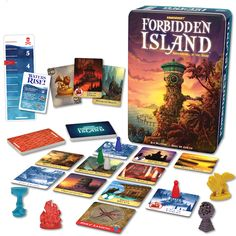 The best board games for older kids: work together to collect the treasures at Forbidden Island