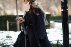 Stockholm Style - Stockholm Fashion Week Fall 2014 Street Style Day 1.