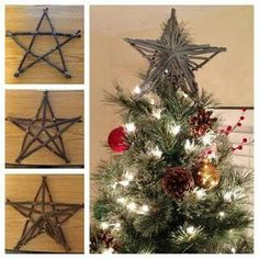 When decorating your tree what graces the top of... - Love of Christmas