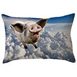 GBSELL Pillow Cover Glitter Sequins Rectangle Throw Pillow Case Cafe Home Party Valentine's Day Decor (Pig Rectangle) - http://www.painlessdiet.com/gbsell-pillow-cover-glitter-sequins-rectangle-throw-pillow-case-cafe-home-party-valentines-day-decor-pig-rectangle/
