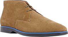 Tod's Suede Chukka Boots - Boots - Barneys.com