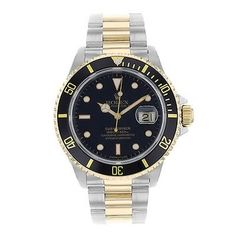 Rolex Submariner 166137 Stainless Steel 18k Yellow Gold Automatic Mens Watch. Get the lowest price on Rolex Submariner 166137 Stainless Steel 18k Yellow Gold Automatic Mens Watch and other fabulous designer clothing and accessories! Shop Tradesy now