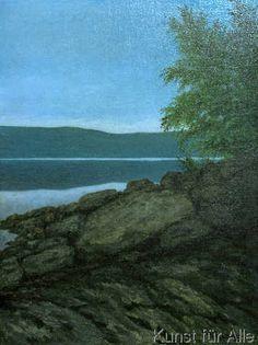 Theodor Kittelsen - A Quite Evening