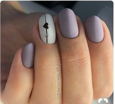 #Purple #nails