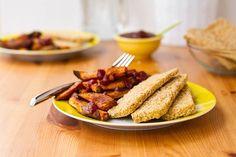 Easy Weeknight Dinner: Crispy Breaded Tofu Strips