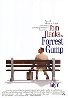 Forrest Gump is a 1994 American comedy-drama film based on the 1986 novel of the same name by Winston Groom. The film was directed by Robert Zemeckis and stars Tom Hanks, Robin Wright, Gary Sinise, Mykelti Williamson, and Sally Field. Iconic Movies, Old Movies, See Movie, Movie Tv, Films Étrangers, Film Mythique, Forrest Gump 1994, Triste Disney, Bon Film