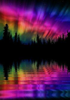 Awesome!  #sky #rainbow #sunset