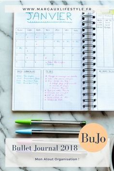 Bullet Journal 2018 : Mon atout Organisation Agenda Bullet, Bullet Journal 2018, Creating A Bullet Journal, Diy Agenda, Agenda Planner, Bullet Journal Astuces, Bullet Journal Minimaliste, Gestion Administration, Bujo